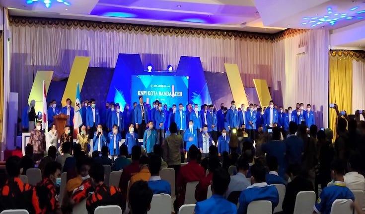 Knpi Banda Aceh Resmi Dilantik Aulia Rahman Banda Aceh Belum Punya Qanun Pemuda Cerita Kita Untuk Kebenaran Ceritawarga Com